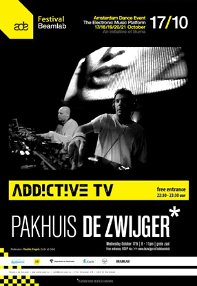 AddictiveTV ADE 2012 Beamlab Amsterdam Dance Event